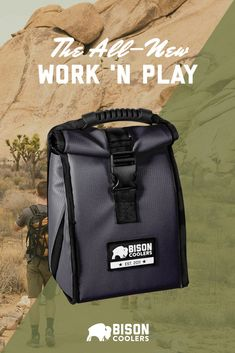 The premium Work 'N Play Bison soft-sided cooler is both a lunchbox and six pack beer cooler. The Bison SoftPak is the perfect cooler for everyday use. Our tough as nails coolers are made in the USA by Bison and backed by our warranty. Dove Hunting, Large Cooler, Ice Chest Cooler, Soft Sided Coolers, Top Boat, Beer Cooler, Tough As Nails, Diy Camping, Cool Technology