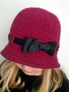 Sombrero de ala ancha para el color de la chica por knits4cuties