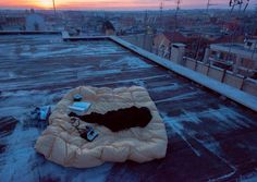A Cozyness for watching sunrise