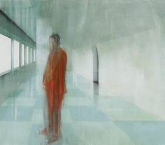 Kenneth Blom · Ankomst · 2009 · 140 x 160 cm