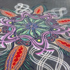sand paintings by joe mangrum