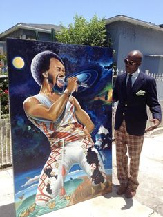 Maurice White of Earth Wind & Fire  by Patrick Henry Johnson