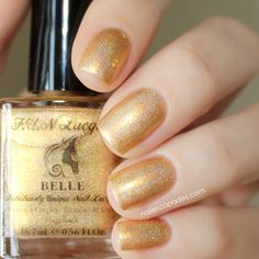 Nail Escapades: F.U.N Lacquer - Princess 2.0 Collection // Belle
