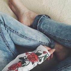 Круто  #vintage #grunge #roses