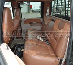 Exceptional King Ranch Style Truck Interior Conversion