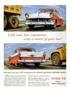 Ford Car advert (1956)