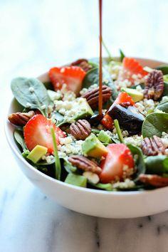 Strawberry Quin0a Salad