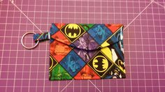 Pattern designed by AiviloCharlotte Designs. Pouch, Wallet, Coin Purses, Pattern Design, Coins, Batman, Personalized Items, Sewing, Shop