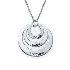 Jewelry for Moms - Three Disc Necklace