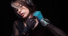 Imogen Heap's Mi.Mu music-gesture gloves Kickstarted into reality (http://gearburn.com/2014/04/imogen-heaps-mi-mu-music-gesture-gloves-kickstarted-into-reality/, 2014)