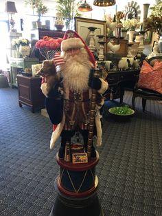 "Brian Kidwell Toy Maker Americana Santa Claus OOAK Signed 2014 ""Kidwell"""