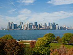 Manhattan Skyline in New York City, USA - Fotografien von meinen Reisen http://www.abendsonne.net/fotografie/235/nordamerika/manhattan-skyline-new-york-city-usa