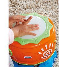 Little Tikes Musical Spin n Hit Drum | Kids | George at ASDA