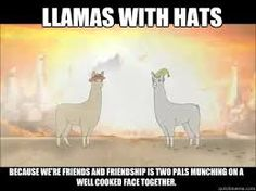 04d9850041196c8446bcaf5f6f5a7d7d llamas with hats friends dammit, carl! random, humor and laughter