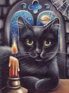 ART PAINT - BLACK CAT