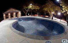 Backyard skate pool... Texas style. That's one insane build, imagine walking out your backdoor and having this to session with your crew. Beyond madness SkullyBloodrider.
