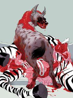 Life of Pi :: Artist Tomer Hanuka. Illustration Sketches, Illustrations Posters, Tomer Hanuka, Comic Artist, Illustrators, Cool Art, Concept Art, Art Photography, Street Art
