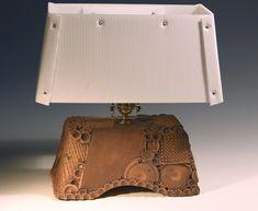 Larry Elardo, M Street Potters, ceramic lamp
