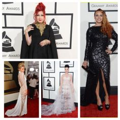 #TheGrammys #rocked the stage last #night! But before the #honors were handed out, we were #awestruck by the #redcarpet looks. A reoccurring trend that we #LOVED was #gobigorgohome and our favorite #celebs did not disappoint. Check out some of the #looks below and tell us who your favorite was!  #grammyawards #faithevans #katyperry #parishilton #celebritystyle #designerdresses #musicsbignight #cyndilauper #capes #seethrough #gowns #ladiesoutfitters
