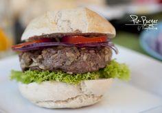 Pilz-Burger Hamburger, Beef, Ethnic Recipes, Top, Mushroom Burger, Fungi, Kochen, Food Food, Woman