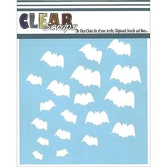 Clear Scraps Translucent Template Stencils by SeptemberPlayground