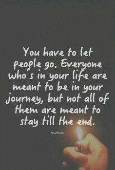 So true lately I have had people throw me around but now their part of my journey is over and I will continue to grow without them while they stay where they are and continue to tear others down.