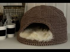 Episode 1. How to make crochet house for cat. All diagrams you can also find on www.crochettoys.weebly.com