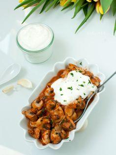 Gebratene Champignons mit Knoblauchschmand oder schneller Alioli [Lowcarb] | SHELIKES – Food & other Stories | Bloglovin'