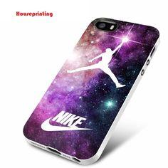 Jordan Nebula Galaxy Nike iPhone case iPhone 4 5 5s 5c 6 6plus 6s 6s plus  #UnbrandedGeneric