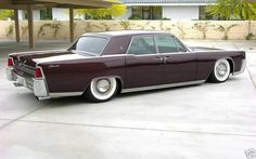 Love me an old Lincoln Continental with some suicide doors. Such beautiful lines!
