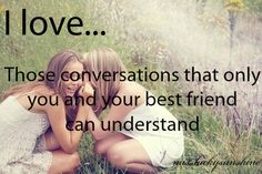 Only you and your best friend can understand