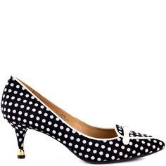 Janis heels Black Multi Fabric brand heels Isaac Mizrahi |Heels|