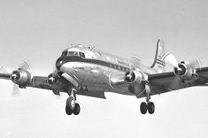 Cultura Aeronáutica: 1949: um Douglas DC-4 americano pousa em Paranavaí e Mandaguari