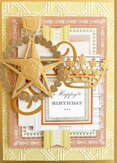 This regal collection of cut & emboss dies will add elegant embellishment to all your cards and scrapbook pages. Use them with your Empress machine for a lasting impression. Includes: Cut and emboss dies Idea sheet Largest die is approx x Card Making Kits, Making Ideas, Birthday Cards, Happy Birthday, Easel Cards, Men's Cards, Greeting Cards, Happy Wishes, Anna Griffin Cards