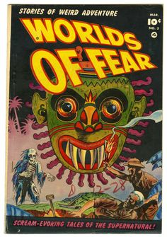Sheldon Moldoff | Worlds of Fear #3 | Fawcett  | 1952