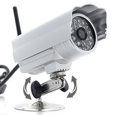 Waterproof IP Surveillance Camera with WiFi + IR Cut-Off Filter + Night Vision by Night Owl Optics. $69.99. The IP security camera generates a IP address for itself when you connect it to the Internet. With that IP address, you can view and record what the video camera sees from anywhere in the world, just need an web connection.  Support real-time snapshot and recording, IR Cut-Off Filter for clearer images  Material: Aluminum alloy  Waterproof: YES  Sensor: 1/4 inch CMOS ...