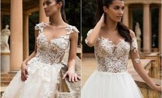 """[tps_header]If you are in search of """"the dress"""" then you are definitely in the right moment of time where you begin to get excited for something fresh. The Milla Nova 2017 wedding dress collection is full of whiteR..."""