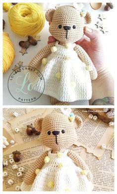 Crochet Teddy Bear Amigurumi Free Patterns Crochet Elephant Pattern Free, Crochet Teddy Bear Pattern, Crochet Bear, Free Crochet, Free Pattern, Crochet Animals, Amigurumi Patterns, Crochet Patterns, Crochet Flower Scarf