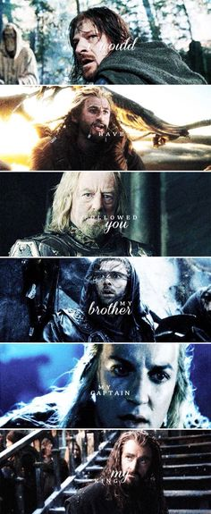 My brother, captain, King