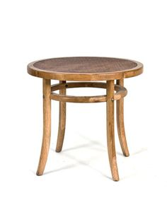 HIGH STREET MARKET French Oak Bentwood Side Table