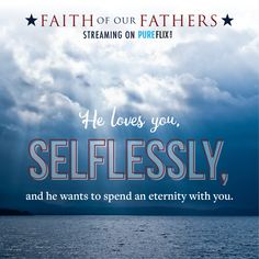 """Do you want to spend eternity with Him? Comment """"Yes!"""" if you agree! Faith Of Our Fathers, Faith In God, Stephen Baldwin, Amazon Fire Tv, Christian Movies, Christian Encouragement, Movies And Tv Shows, Love Him, Bible Verses"""