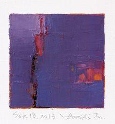oil on canvas 9 cm x 9 cm hiroshi matsumoto www.facebook.com/9x9painting