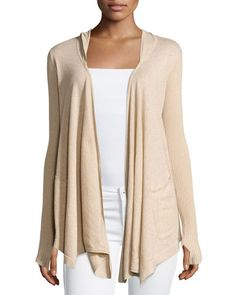 95f823340e3 New Minnie Rose Cotton Hooded Open-Front Duster Cardigan