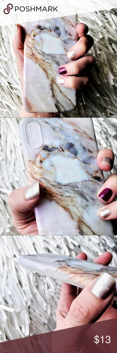NEW iPhone X 10 Soft TPU Marble Stone Case Cover ▪️Fits The Upcoming iPhone X 10 !     ▪️High Quality Soft TPU - Thick & Shock-Resistant     ▪️Same or Next Business Day Shipping ! Accessories Phone Cases