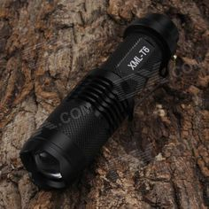 SingFire SF-118B 750lm 3-Mode White Zooming Mini LED Flashlight - Black (1 x 18650). Super mini flashlight more convenient to carry.. Tags: #Lights #Lighting #Flashlights #LED #Flashlights #18650 #Flashlights