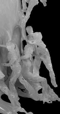 Digitally Sculpted Wax Figures Explore Uncharted Territory - My Modern Metropolis