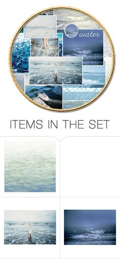 """""""water drops down the sky"""" by xxkrissixx ❤ liked on Polyvore featuring art"""