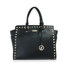 London Black Tote