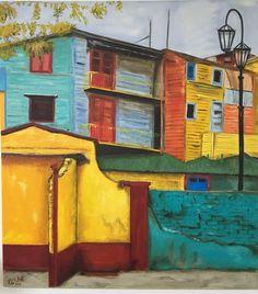 Pintura à óleo 2016 - Caminito