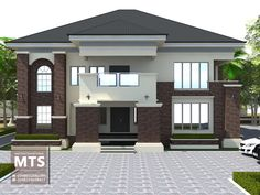 Best Garden Decorations Tips and Tricks You Need to Know - Modern House Roof Design, Home Building Design, Modern House Design, Duplex House Plans, My House Plans, Modern House Plans, Single Storey House Plans, House Design Pictures, Modern Bungalow House